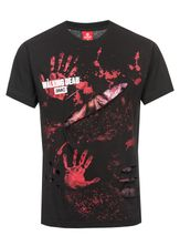 The Walking Dead DARYL ALL INFECTED Ripped T-Shirt schwarz – Bild 3