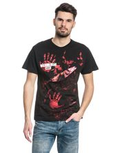The Walking Dead ZOMBIE ALL INFECTED Ripped T-Shirt schwarz – Bild 1