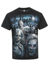 The Walking Dead ZOMBIE HORDE T-Shirt schwarz – Bild 0
