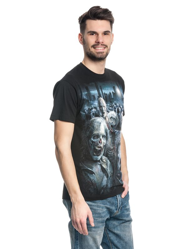 The Walking Dead ZOMBIE HORDE T-Shirt schwarz – Bild 1