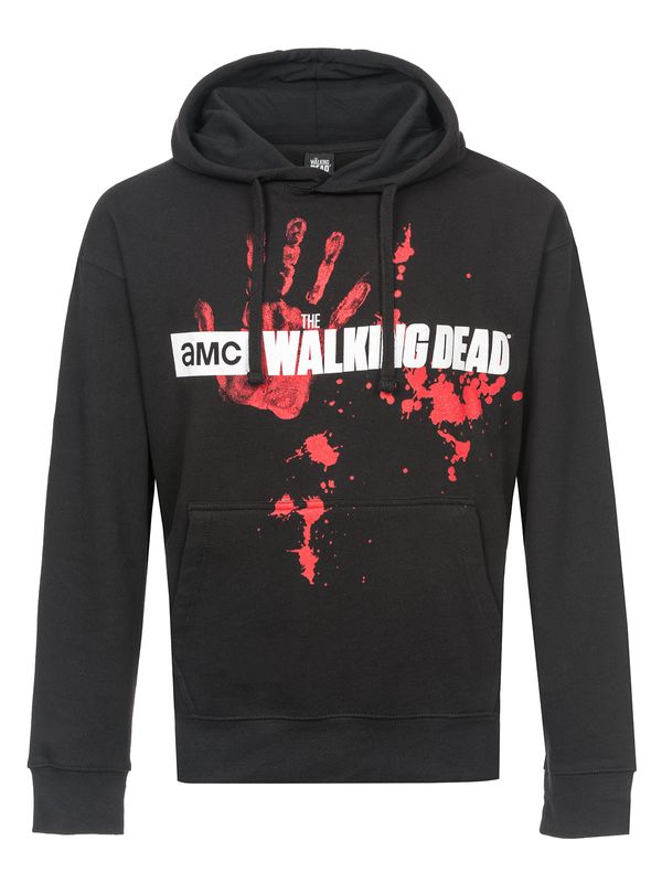 The Walking Dead ZOMBIE HORDE Hooded Sweater black view