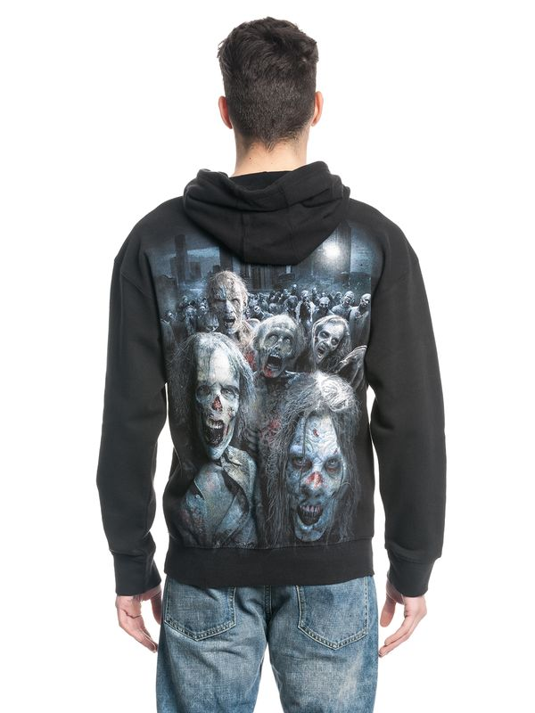 The Walking Dead ZOMBIE HORDE Hooded Sweater black – Bild 4