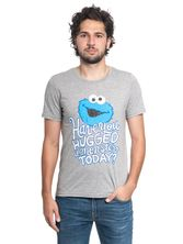 Sesame Street Have you hugged a Monster T-Shirt gray-melange – Bild 0