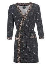 Vive Maria  Miss Lily Dressing Gown Dark Green Allover – Bild 0