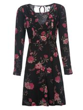 Vive Maria Victorian Rose Dress black allover – Bild 0