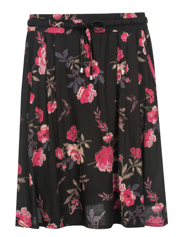 Vive Maria Victorian Rose Skirt black allover – Bild 0