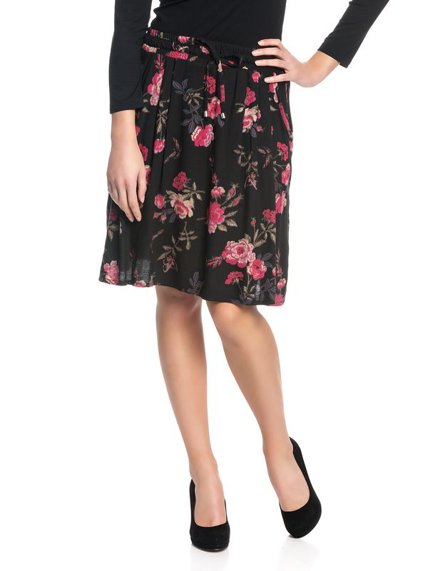 Vive Maria Victorian Rose Skirt black allover – Bild 1