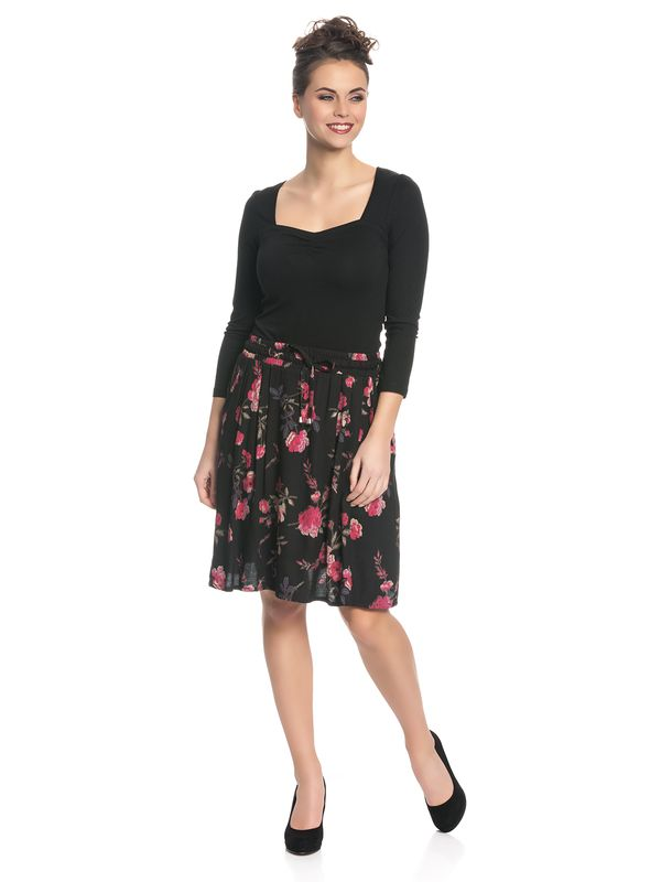Vive Maria Victorian Rose Skirt black allover – Bild 5
