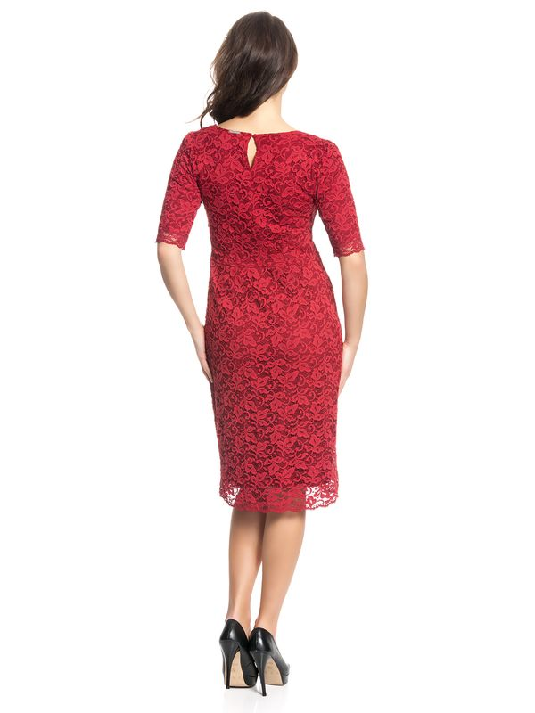 Vive Maria Red Glam Lace Dress red – Bild 3