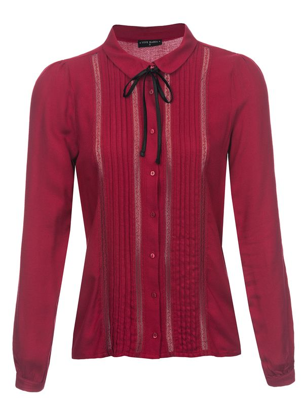 Vive Maria Red Lolita Blouse red