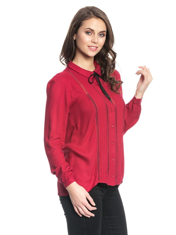 Vive Maria Red Lolita Blouse red – Bild 3