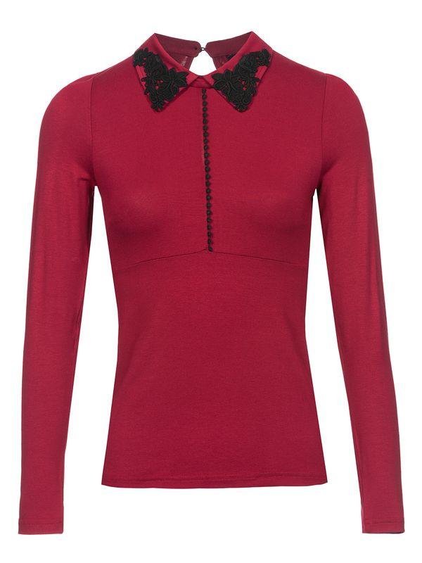 Vive Maria Red Lolita Shirt red – Bild 0
