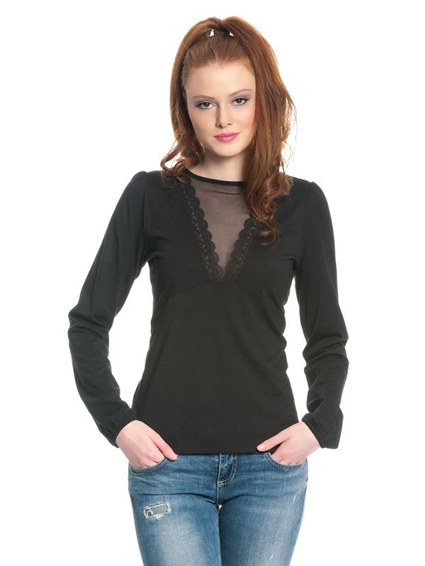 Vive Maria Black Evening Shirt schwarz – Bild 2