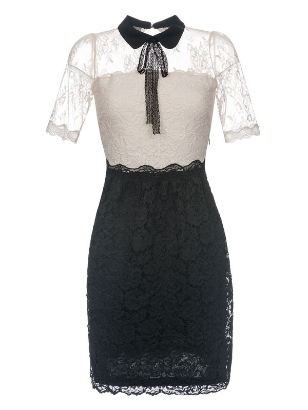 Vive Maria Neo Victorian Dress creme/black – Bild 0