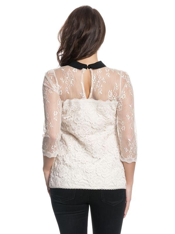 Vive Maria Neo Victorian Shirt creme – Bild 3