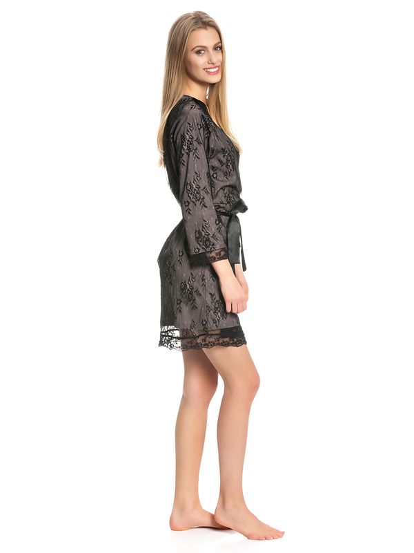 Vive Maria Glam Lace Morning Gown black – Bild 2