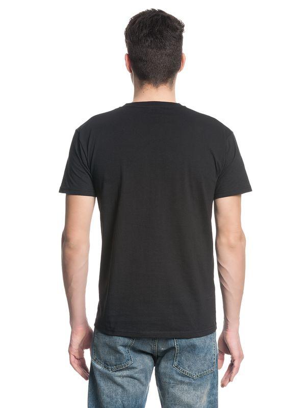 The Walking Dead Grimes Negan Fight Poster Herren T-Shirt black – Bild 4