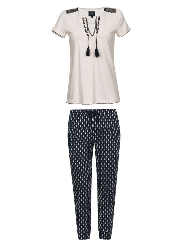 Vive Maria Dreaming Sailor Pyjama Cream/Navy Allover – Bild 1