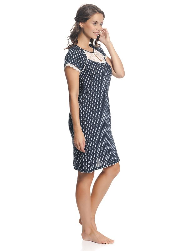 Vive Maria Dreaming Sailor Nightdress Navy Allover – Bild 3