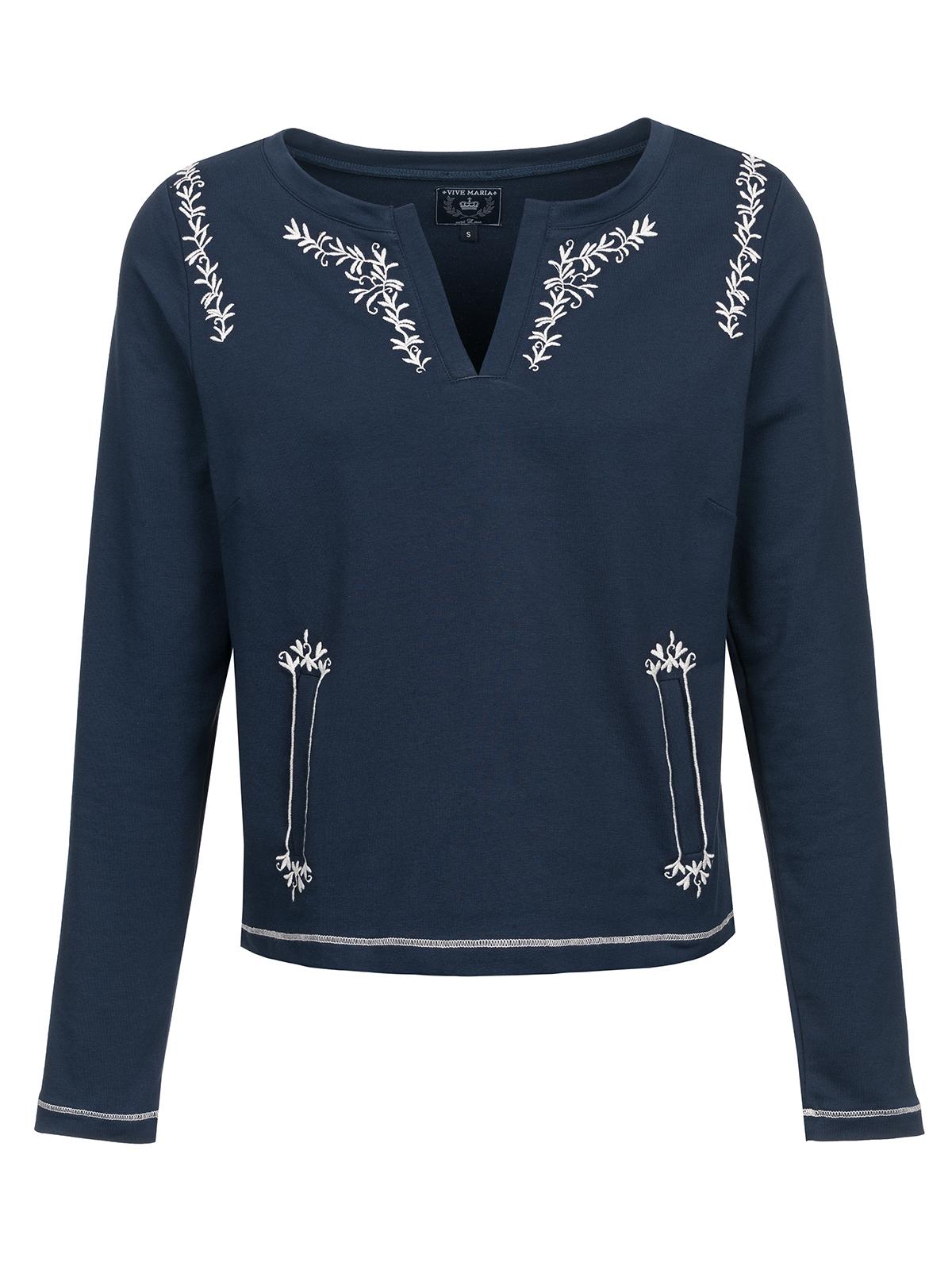 Vive Maria Cute Sailor Sweater Dunkelblau
