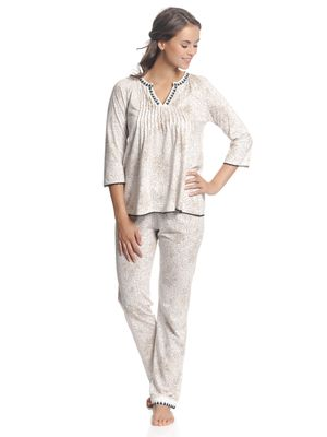 Vive Maria Hippy Dream Pyjama Weiß allover – Bild 1
