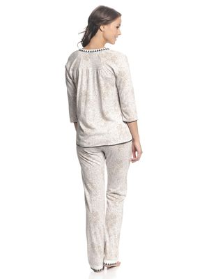 Vive Maria Hippy Dream Pyjama Weiß allover – Bild 2