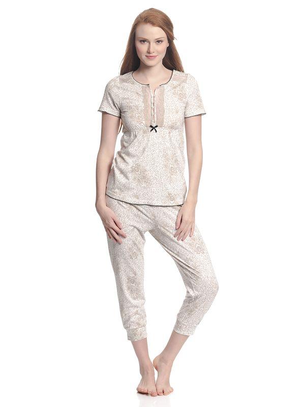 Vive Maria Tender Hippy Pyjama Weiß Allover – Bild 2