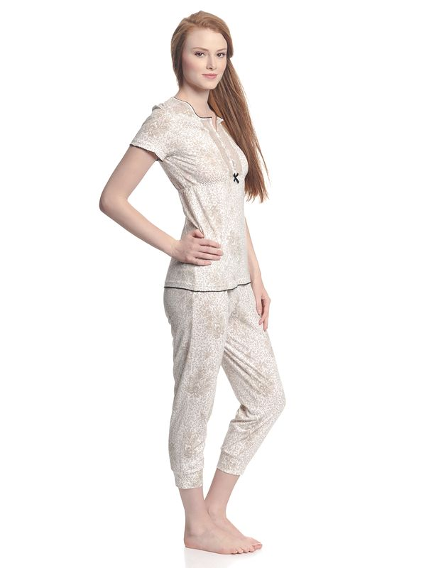 Vive Maria Tender Hippy Pyjama White Allover – Bild 2