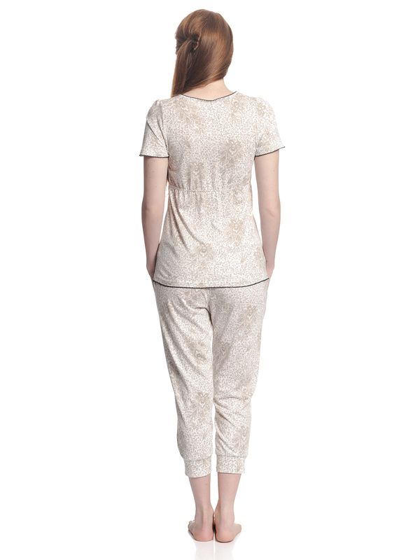 Vive Maria Tender Hippy Pyjama White Allover – Bild 3
