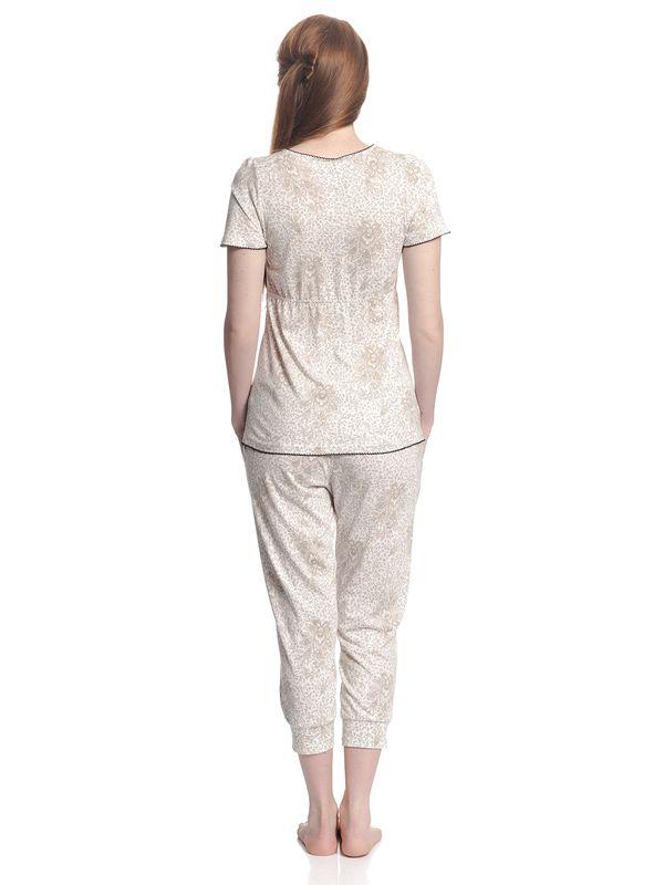 Vive Maria Tender Hippy Pyjama Weiß Allover – Bild 4