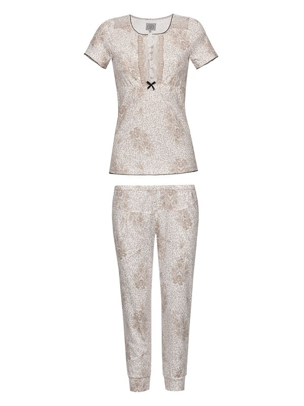 Vive Maria Tender Hippy Pyjama White Allover – Bild 1
