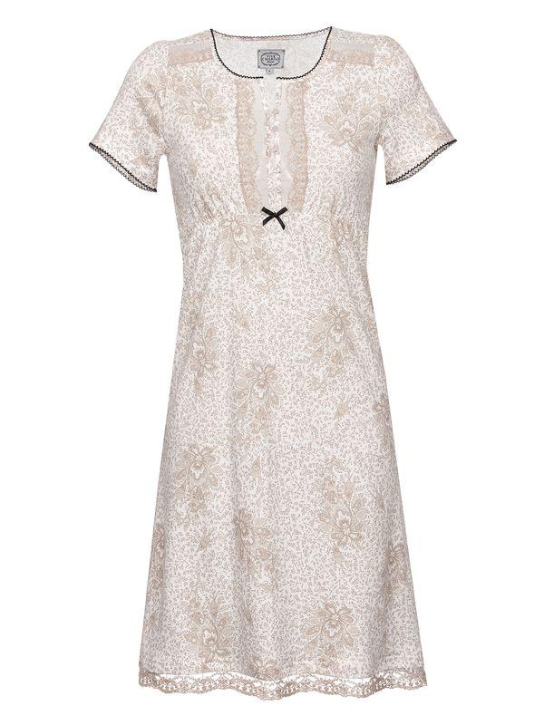 Vive Maria Hippy Dream Nachthemd Weiß Allover – Bild 0