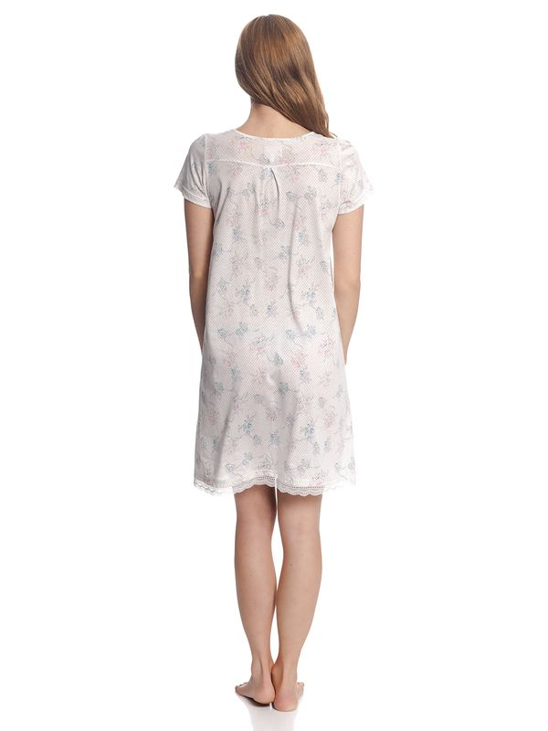 Vive Maria Retro Flower Nightdress White Allover – Bild 3