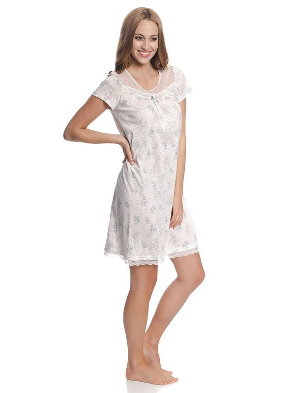 Vive Maria Retro Flower Nightdress White Allover – Bild 4