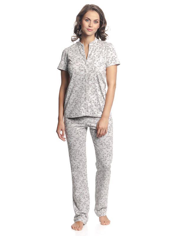 Vive Maria Cherry Blossom Pyjama Gray Allover – Bild 2