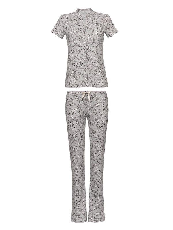 Vive Maria Cherry Blossom Pyjama Gray Allover – Bild 1