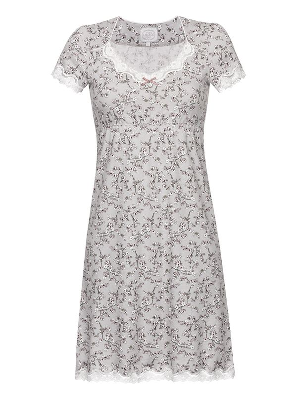 Vive Maria Cherry Blossom Nightdress Gray Allover – Bild 1