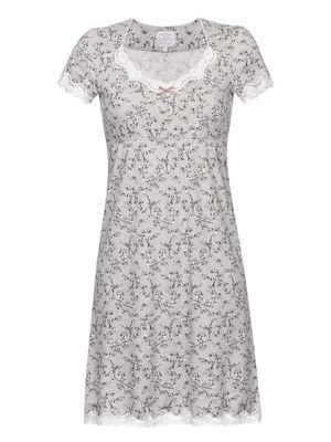 Vive Maria Cherry Blossom Damen Nachthemd Grau Allover – Bild 0