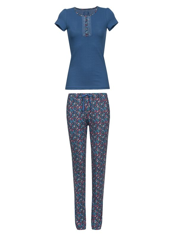 VIVE MARIA French Flower Pyjama Blue/ Blue Allover – Bild 1