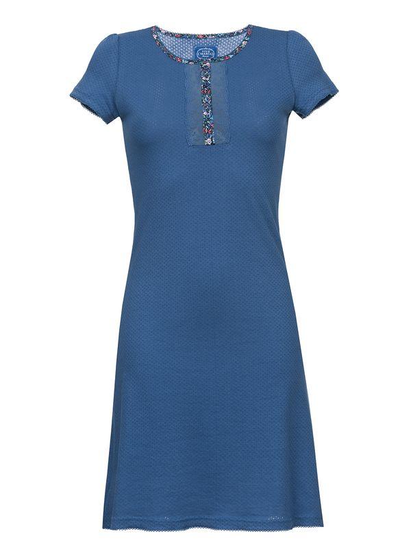 Vive Maria French Flower Nightdress Blue/ Blue Allover – Bild 1
