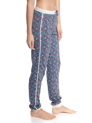 Vive Maria French Flower Pants Blau Allover – Bild 3