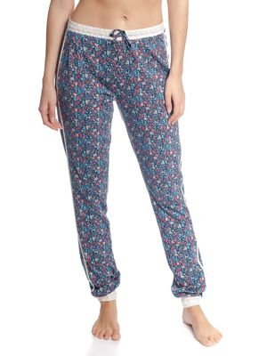 Vive Maria French Flower Pants Blau Allover – Bild 2