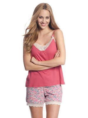 VIVE MARIA Lollipop Girl Shorts Pink Allover – Bild 1