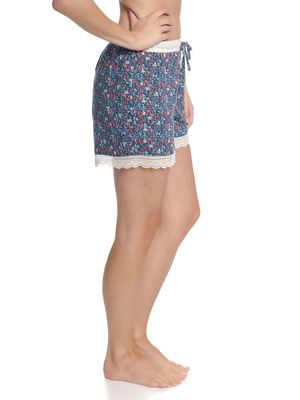 Vive Maria French Flower Shorts Blau Allover – Bild 3