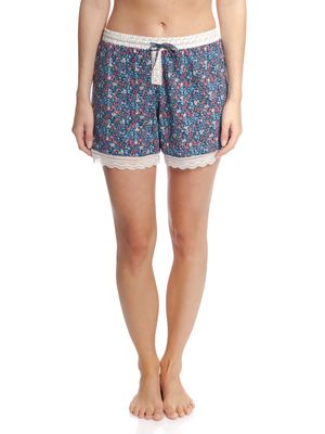 Vive Maria French Flower Shorts Blau Allover – Bild 2