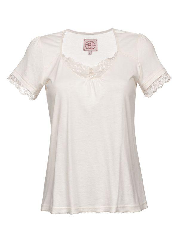 Vive Maria Basic Lace Shirt cream – Bild 1