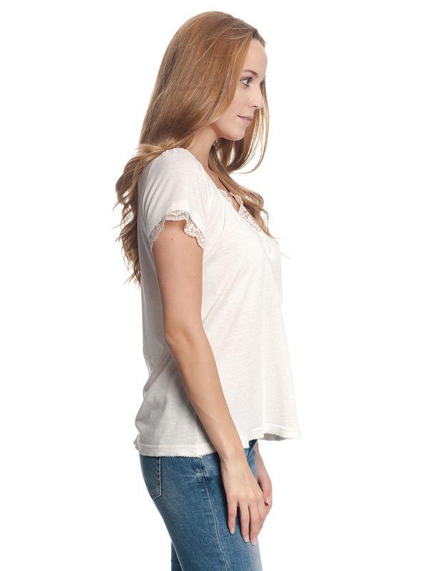Vive Maria Basic Lace Shirt cream – Bild 3