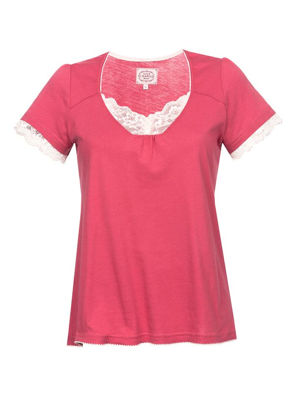 Vive Maria Basic Lace Shirt berry – Bild 4