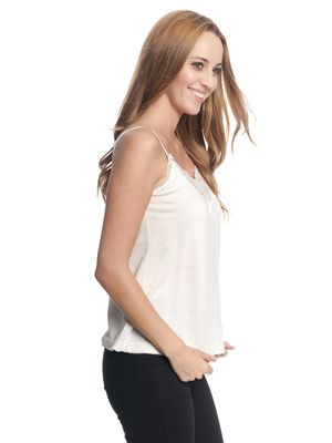 Vive Maria Basic Lace Top cream – Bild 2