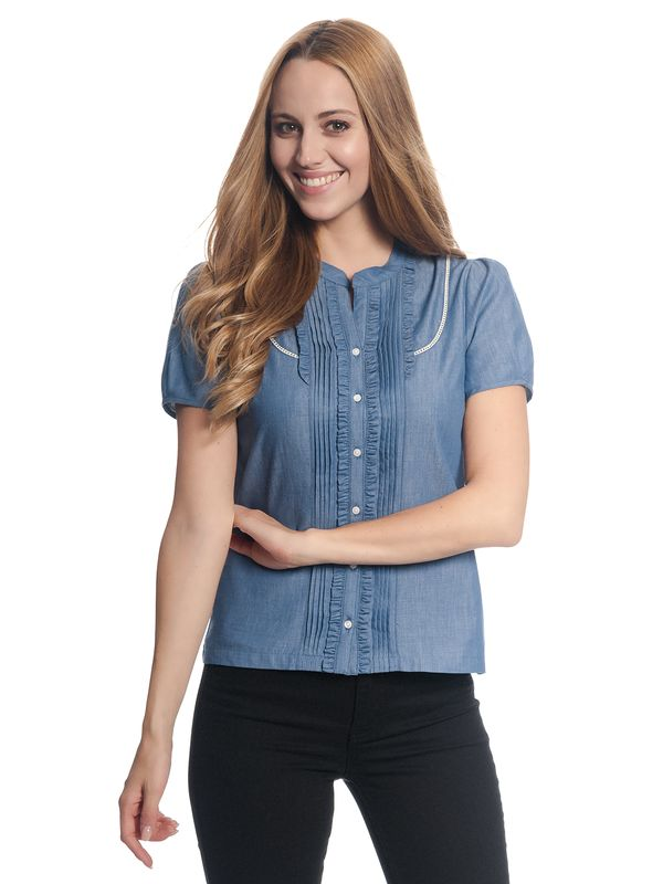 Vive Maria Denim Princess Bluse  – Bild 2